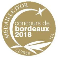 chateau bournac medaille or